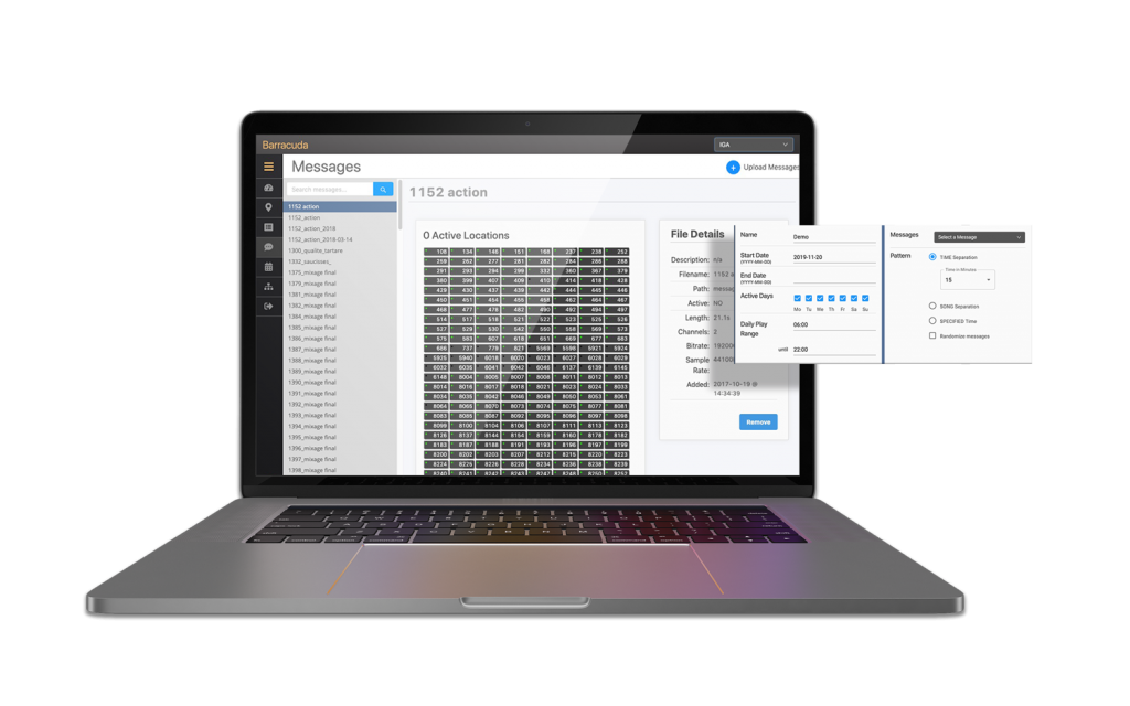 Messaging app of the Enterprise software