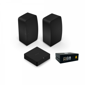 sonos bundle with 2 fives a port and syb player