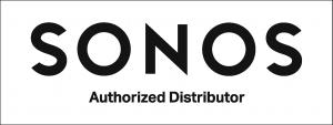 Sonos Authorized Distributor Logo White